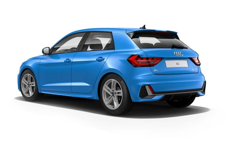 Audi A1 30 Sportback 5Dr 1.0 TFSI 116PS Sport 5Dr Manual [Start Stop] back view