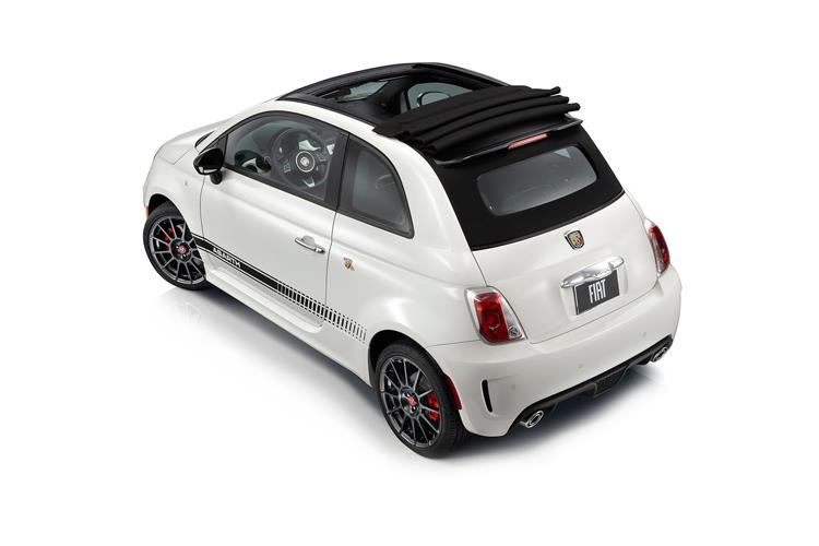 Abarth 595 C Cabrio 1.4 T-Jet 180PS Competizione 70th 2Dr Manual back view
