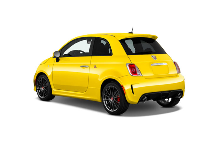 Abarth 595 Hatch 3Dr 1.4 T-Jet 180PS EsseEsse 70th 3Dr Auto back view