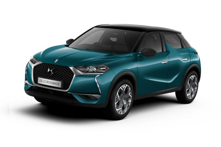 DS Automobiles DS 3 Crossback 5Dr 1.2 PureTech 130PS Prestige 5Dr EAT8 [Start Stop] front view