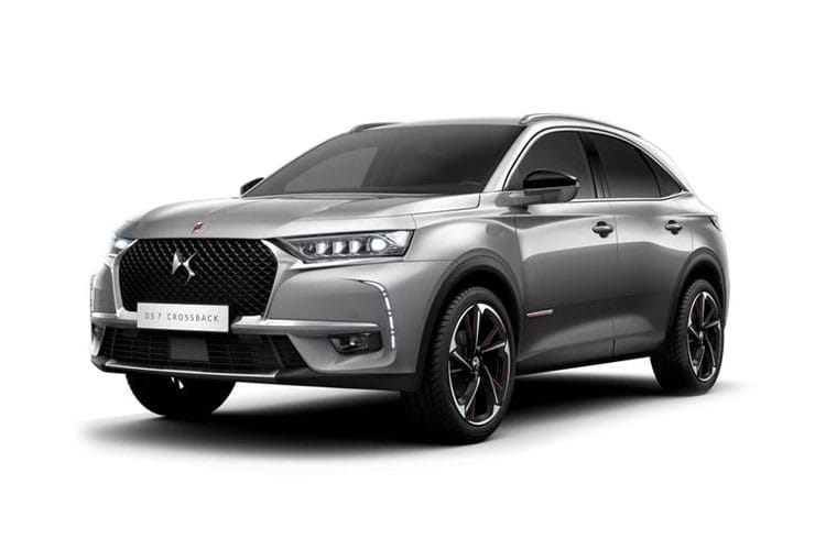 DS Automobiles DS 7 Crossback SUV 5Dr 1.6 E-TENSE PHEV 13.2kWh 225PS Elegance 5Dr EAT8 [Start Stop] front view
