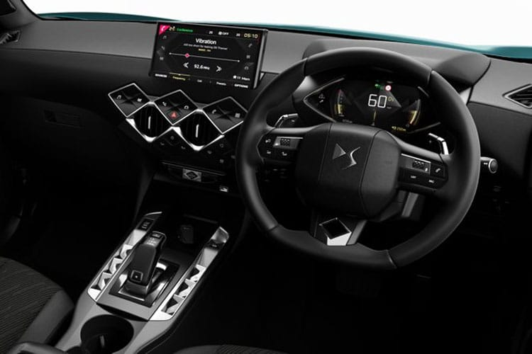 DS Automobiles DS 3 Crossback 5Dr 1.2 PureTech 130PS Prestige 5Dr EAT8 [Start Stop] inside view