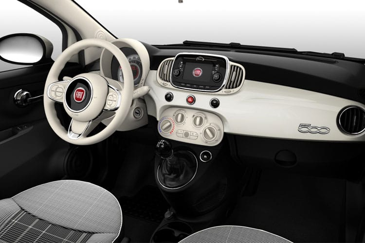 Fiat 500 C Convertible 1.0 MHEV 70PS Launch Edition 2Dr Manual [Start Stop] inside view