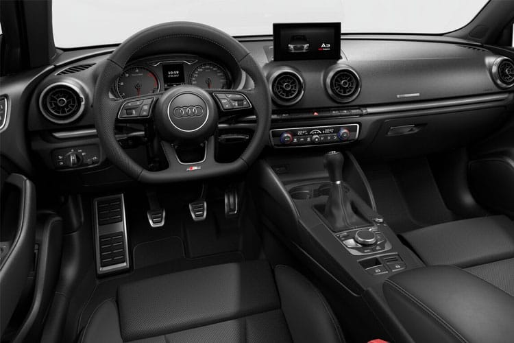 Audi A3 35 Saloon 4Dr 2.0 TDI 150PS S line 4Dr S Tronic [Start Stop] inside view