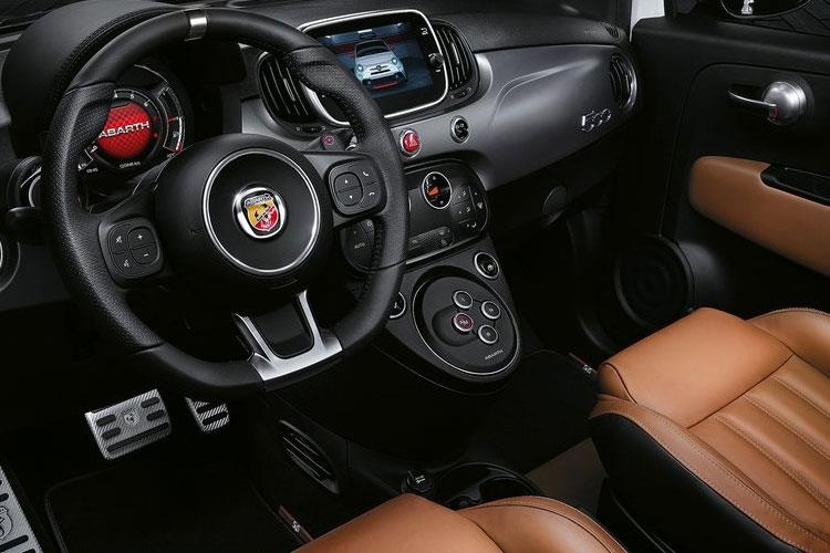 Abarth 595 Hatch 3Dr 1.4 T-Jet 180PS EsseEsse 70th 3Dr Auto inside view