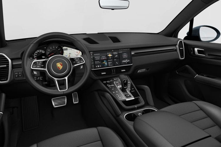 Porsche Cayenne Coupe 4wd 4.0 T V8 550PS Turbo 5Dr Tiptronic [Start Stop] inside view