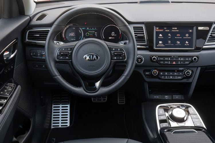 Kia Niro SUV 5Dr 1.6 h GDi 139PS 3 5Dr DCT [Start Stop] inside view