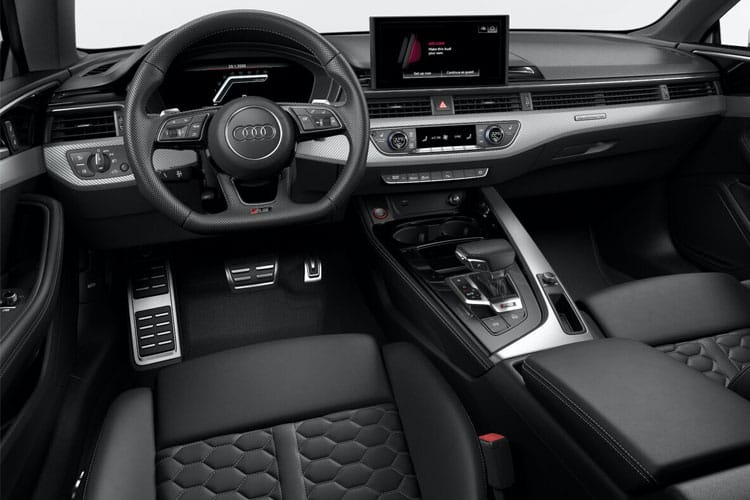 Audi A5 40 Coupe 2Dr 2.0 TFSI 190PS Black Edition 2Dr S Tronic [Start Stop] inside view