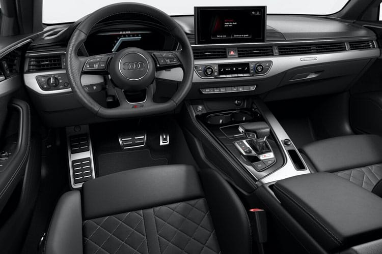 Audi A4 45 Saloon quattro 4Dr 2.0 TFSI 265PS S line 4Dr S Tronic [Start Stop] inside view