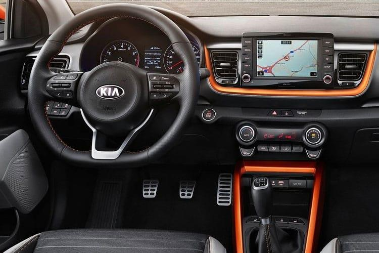 Kia Stonic SUV 5Dr 1.0 T-GDi 118PS 4 5Dr DCT [Start Stop] inside view